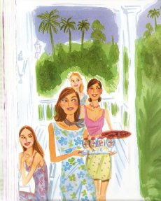 Picture from A Guide to Colorful Entertaining by Lilly Pulitzer, illustrated by IZAK ZENOU (my favorite illustrator)