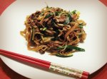 Guangdong dry fried beef and rice noodle