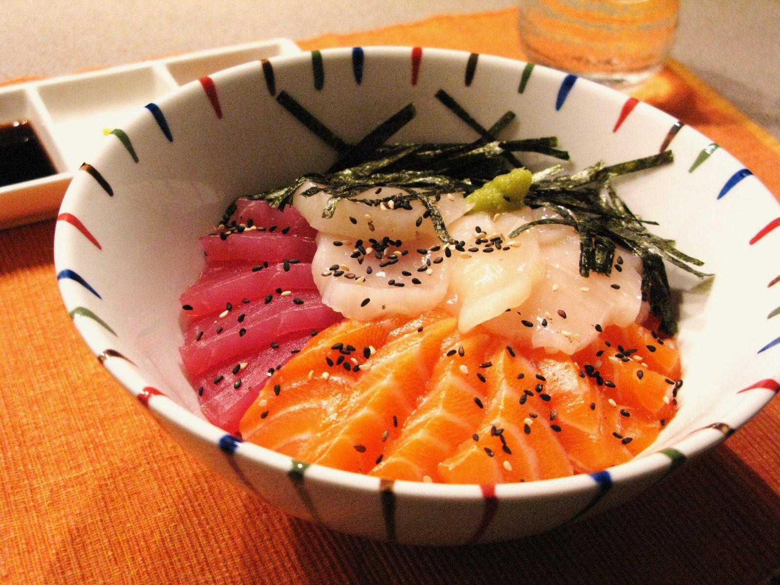 Quick easy japanese sashimi rice bowl kaisendon quick easy japanese sashimi rice bowl kaisendon forumfinder Images