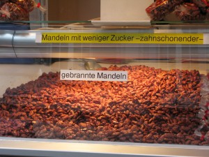 Gebrannte Mandeln (Roasted Almonds coated with Sugar)