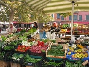 Fruit & Veg Stall in Campo San Margherita