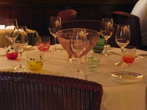 Da Fiore, table set