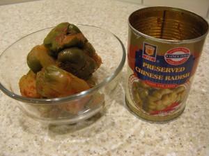 Preserved Chinese Radish