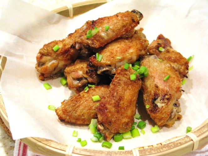 Grilled Chicken Wings with Asian Spices