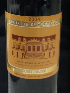 Second wine of Ducru Beaucaillou