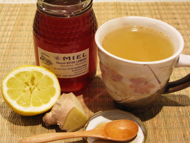 Ginger, Lemon and Honey Tea