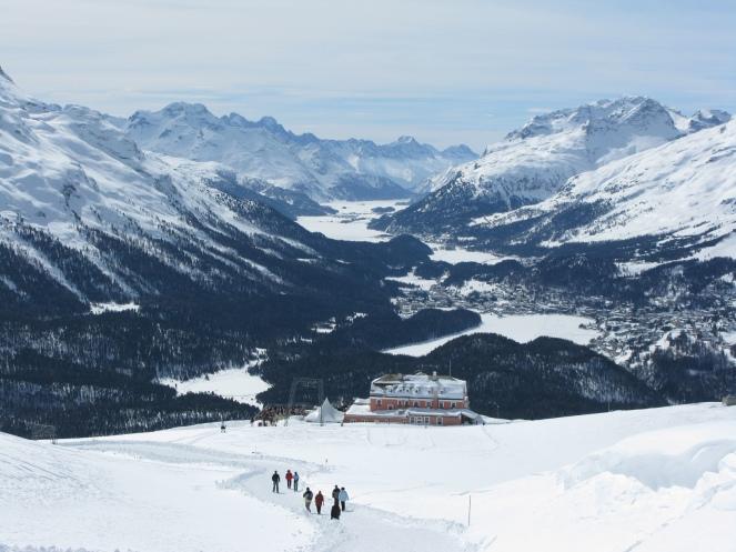 Taken from Muottas Muragl 2456m, Samedan, St Moritz