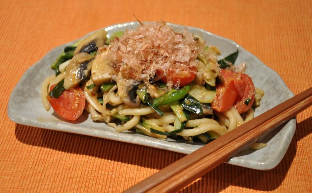 Veggie Yakiudon