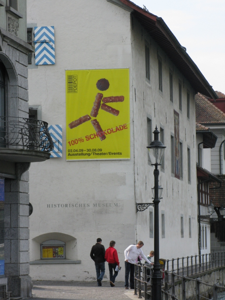 Chocolate Exhibition Poster, Lucern