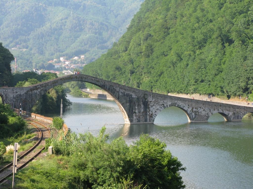 Ponte del Diavolo, Barga di Lucca