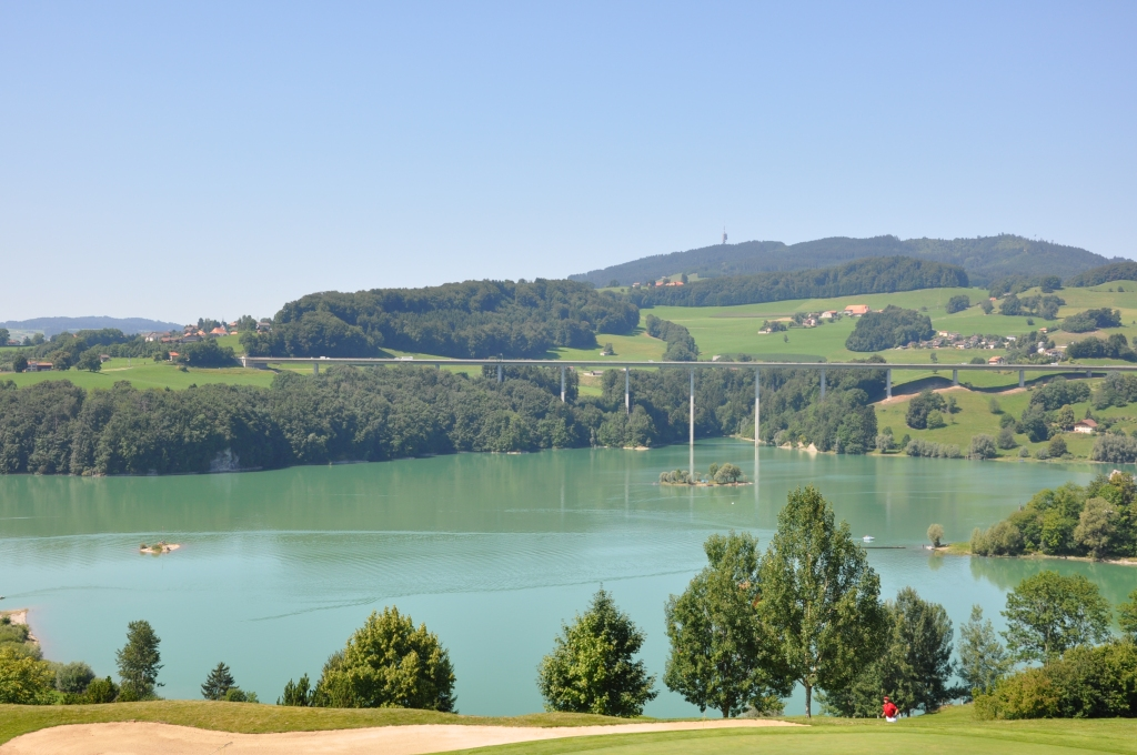 Lac de Gruyere (taken from Golf course)