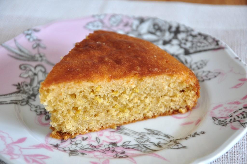 Zesty Lemon Limoncello Cake