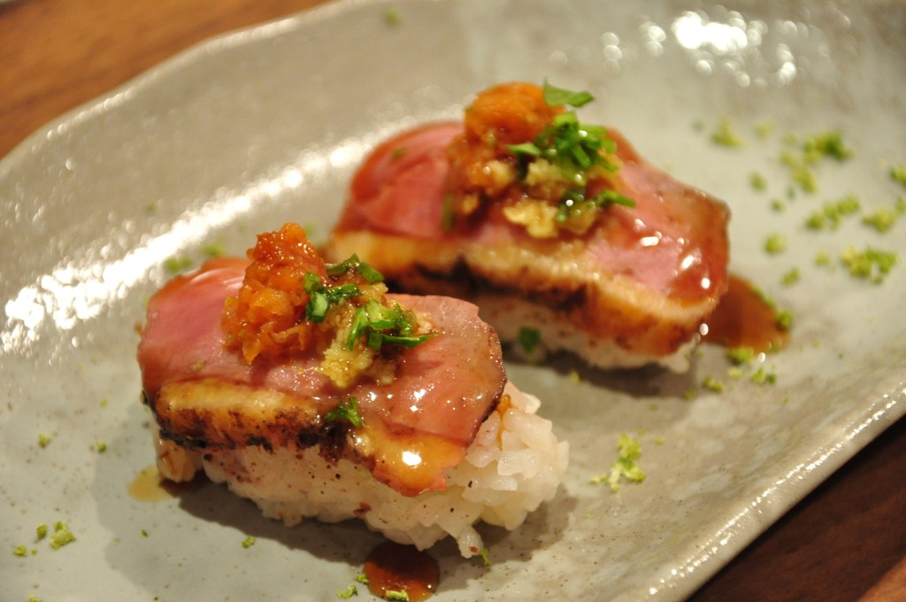 Duck breast sushi 02