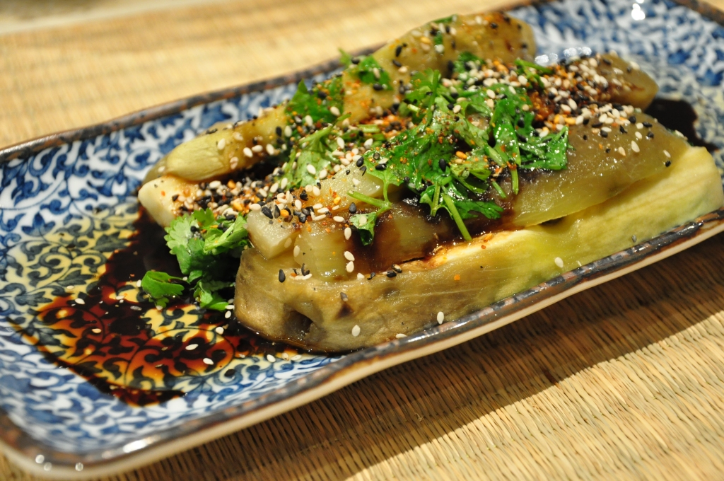 easy chinese steamed eggplant (aubergine)