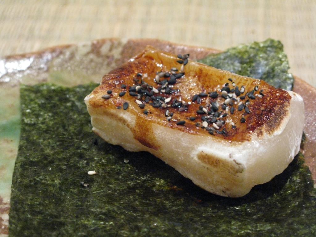 grilled kirimochi