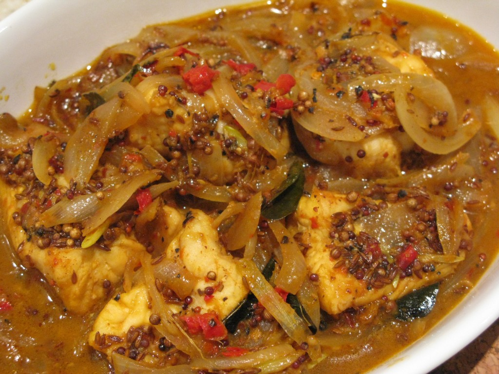 assamese sour fish curry