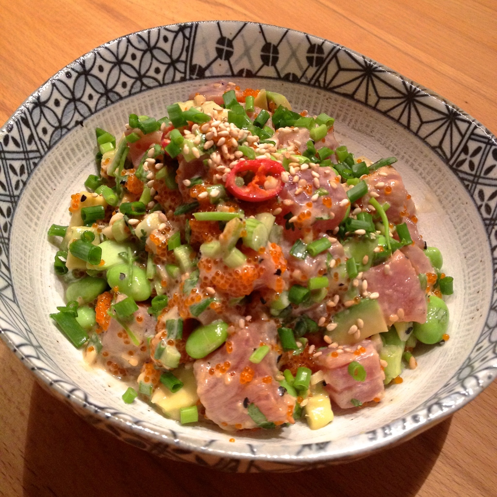 Tuna avocado Cerviche